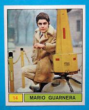Figurina/Sticker-CANTANTI PANINI 69-n. 14 - MARIO GUARNERA -recuperata