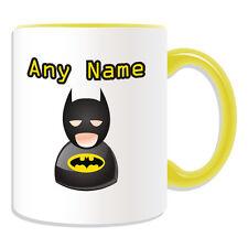 Personalised Gift Batman Mug Money Box Customise Superhero Cup Coffee Avengers