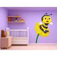 Sticker enfant Animaux Fleur Abeille ref 15226 15222