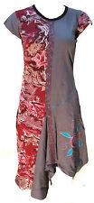 coton fait main Hippie Naturel Katmandou robe boho rétro