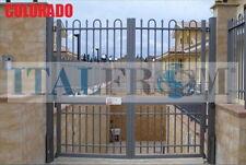 portail battant clôtures fer forgé galvanisé (Colorado)
