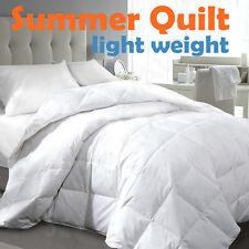 Single/Double/Queen/King/Super King Light Weight Summer Quilt-Machine Wash