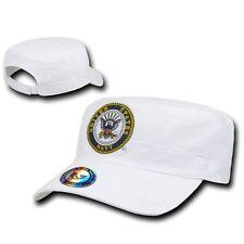 United States Navy USN BDU GI Cadet Castro Military Baseball Cap Hat Caps Hats