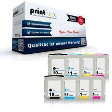 8x Alternative Tintenpatronen für HP 10+11 Laser Tinten Set XL-Office Plus Serie