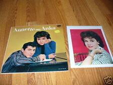 ANNETTE FUNICELLO Sings Paul Anka w photo