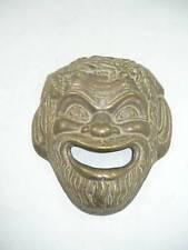 Fettes gesicht Gesicht für brunnen messing brüniert Aristotele