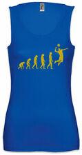 Volleyball Evolution Damen Tank Top Human Coach Player Fun Training Fitness