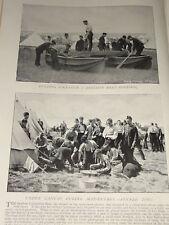 1896 BERTHON BOAT PONTOON 2ND BATT SCOTS GUARDS COOKS