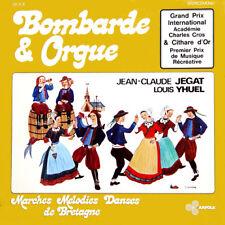 BOMBARDE & ORGUE Vol. 2 J.C. Jégat L. Yhuel FR Press LP