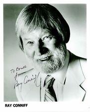 "Ray Coniff, Big Band Leader, Signed 8"" x 10"" Photo, Coa, Uacc Rd 036"