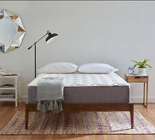 "Serenia Sleep 12"" Quilted Sculpted Cushion Firm Gel Memory Foam Mattress"