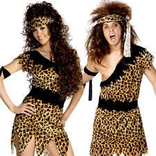 Caveman or Cavewoman Adults Fancy Dress Pre-Historic Stone Age Barbarian Costume