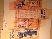 REFABRICATION BOITE SIMCA TRANON NOREV 1957