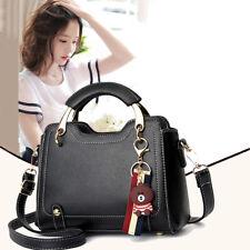 Women Faux Leather Handbags Shoulder Messenger Satchel Tote Crossbody Bags Purse