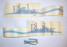 FIAT PANDA BLUEBAY/ KIT ADESIVI ESTERNI BLU/ BLUE LATERAL STICKERS SET