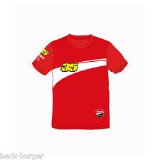 DUCATI Corse Cal Crutchlow Bambini T-shirt d11 MOTO GP KIDS Rosso Nuovo!