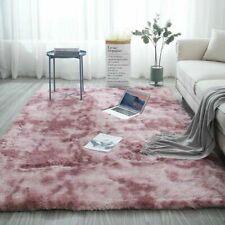 Hairy Carpet Balcony Round Rectangular Carpet Faux Fur Carpet Bedroom Rug G6UK