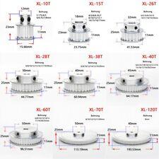 XL 10-100 Zähne Riemenscheibe Zahnrad 10T-100T Pulley für Zahnriemen 10mm Breite