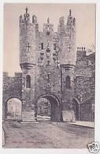Micklegate Bar , York Photo Postcard 1920