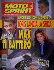 Motosprint 48 1996 Anche Goi con l'Aprilia Loris lancia la sfida. Honda Joker 90