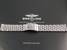 Ultimate s/s pilote bracelet pour BREITLING chronomat vent modèles 357A 22mm