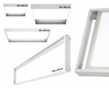 LED Panel Alu Aufputz Rahmen 30x30 60x30 60x60 120x30 Aufputzrahmen Aufbaurahmen