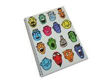 A4 Spiral Notebook - 80 Sheets