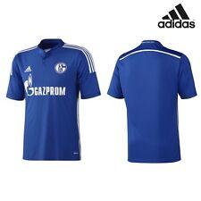 adidas Schalke 04 Replica Spieler Heimtrikot 2014/2015 blau/weiß [D88444]