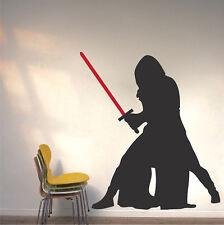 Kylo Ren Wall Decal, Star Wars Wall Vinyl, The Force Awakens Wall Sticker, g98