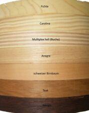 Echtholzfurnier Kantenumleimer Bügelfurnier 5m 23 mm Schichtkleber