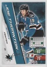 2010-11 Panini Adrenalyn XL #291 Joe Thornton San Jose Sharks Hockey Card