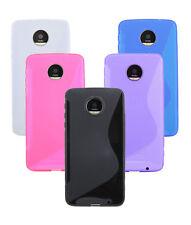 Gel Silicone Cover Silicone Case Accessories+Film for Lenovo Moto Z Play @ COFI