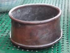 antico bollitore in rame centrotavola portavaso oggetti x arredo cucina rustica
