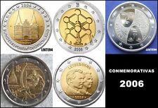 2 EURO CONMEMORATIVOS 2006 - TODOS LOS PAISES