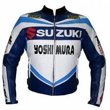 Suzuki Lederjacke Sport Motorrad Lederjacke Renn Rindleder Lederjacke