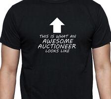 Fantastico banditore T Shirt Regalo di Natale MARTELLETTO l'asta Collectables
