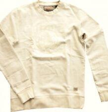Petrol Industries cooles Sweatshirt antique white rundhals Vintageprint SWR333
