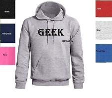 GEEK Sweatshirt  Funny Nerd Computer Geeky Funny Hoodie SIZES S-XL