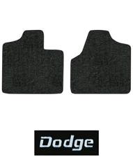 2001-2007 Dodge Caravan Floor Mats - 2pc Front - Cutpile