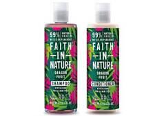 Faith In Nature Dragon Fruit Shampoo & Conditioner 400ml *Revitalising*