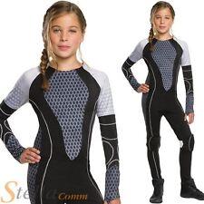 ADULT/'S SURVIVAL HUNGER GAMES JUMPSUIT COSTUME WOMEN/'S FANCY DRESS