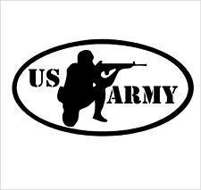 U.S. ARMY  OVAL RIFLEMAN vinyl sticker Decal   BUY 2 GET 1 FREE