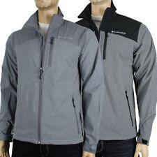 """New Mens Columbia """"Miller Peak"""" Water Wind Resistant Softshell Jacket"""