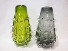 Art Glass table vase  Green/Grey Home Decor Brand new 18cm*30cm
