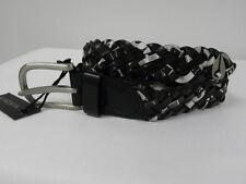 Nixon Wrap Black White XS/S Women Belt Surf Skate