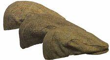 Uni-sex Harris Tweed SCOTTISH Flat Cap Genuine 100% Wool Country Hat S-XL