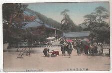 Suma Temple - Kobe Japan Photo Postcard c1905
