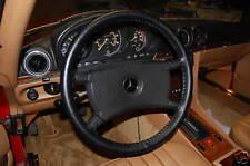 Mercedes Genuine Leather Steering Wheel Cover All Models Wheelskins WSMERC
