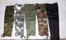 US BDU Hose Kinderhose Rangerhose Cargohose Armeehose Kids Tarnhose XS-3XL Army