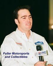 JIMMIE JOHNSON ROOKIE 2002 NASCAR WINSTON CUP 8X10 PHOTO HENDRICK MOTORSPORTS